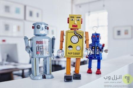12 اسباب بازی رباتی در دهه 1980