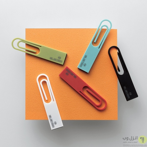آیا طراحی خلاقانه تنها ویژگی فلش مموری های DATA clip و DATA hook است؟