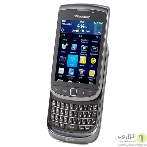 گوشی BlackBerry Torch 9800