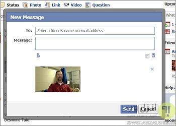 ویژگی مخفی فرستادن Email در فیس بوک