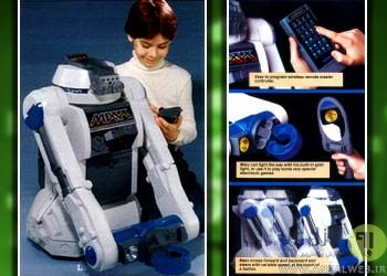 بهترین ربات اسباب بازی Ideal Maxx Steele