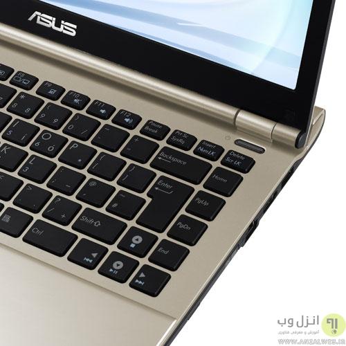 اتصالات لپ تاپ ایسوس مدل U46E