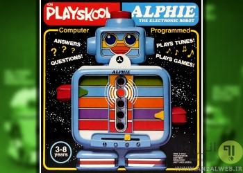 آدم آهنی اسباب بازی Playskool Alphie