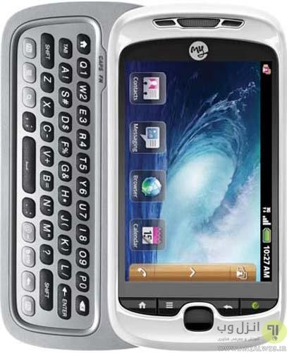 گوشی T-Mobile myTouch 3G Slide