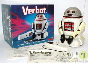 ربات اسباب بازی تشخیص گفتار Tomy Verbot