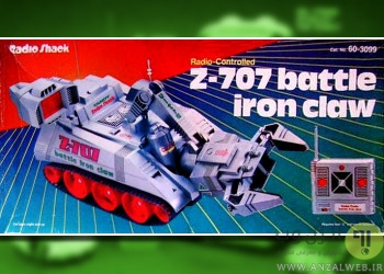 ربات اسباب بازی Radio Shack Z-707 Battle Iron Claw