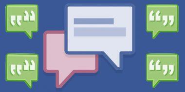اضافه کردن لینک به قسمت نظرات فیس بوک (Facebook)