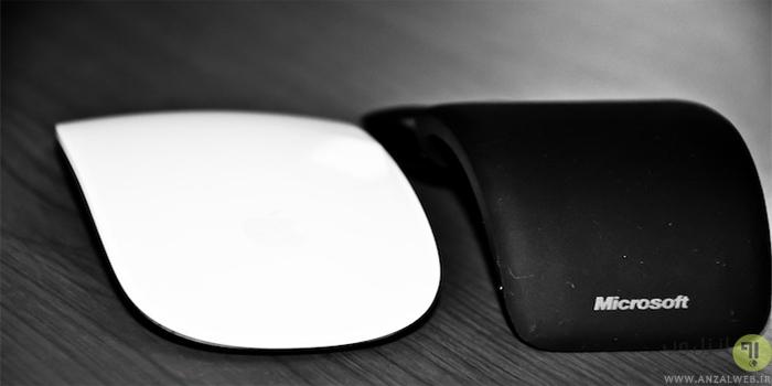 نقد و بررسی ماوس Arc Touch Mouse مایکروسافت