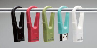 DATA clip و DATA hook، فلش درایو هایی با طراحی خلاقانه و زیبا