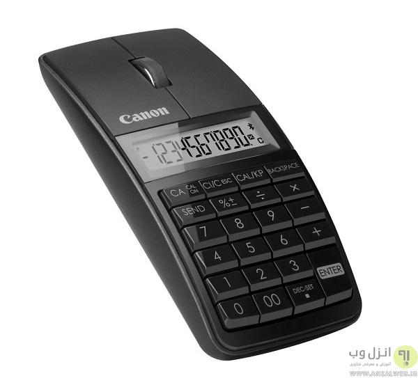 ماشین حساب و موس کانن مدل X Mark 1 Mouse