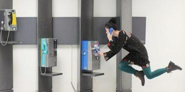 عکس های باورنکردنی از پرواز دختر ژاپنی