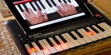 معرفی محصول و اپلیکیشن آموزش پیانو آیفون Piano Apprentice