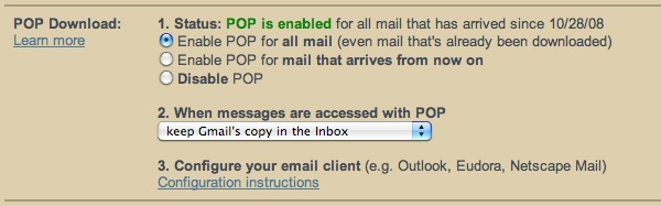 نحوه پشتیبان گیری از Gmail