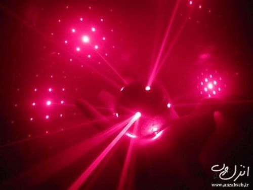 عکس رقص نور