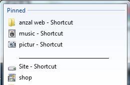 چگونه پوشه های Jumplist ویندوز ۷ را دسته بندی کنیم