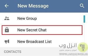تلگرام تریکس