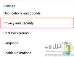 اکانت هک شده تلگرام را باز گردانید