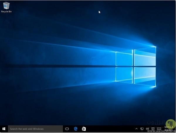 آموزش فارسی  و قدم به قدم نصب ویندوز 10 بر روی لپ تاپ و کامپیوتر