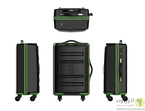 چمدان با شارژر وایرلس