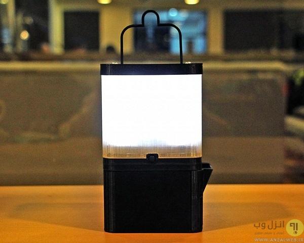 این لامپ تمام شب را تنها با استفاده از یک لیوان آب نمک روشن می ماند