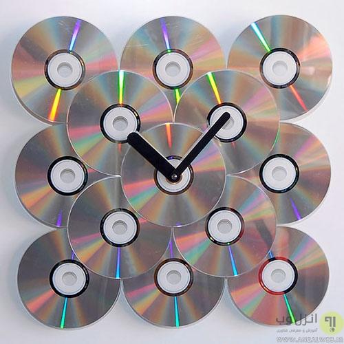 راه های خلاقانه برای استفاده مجدد از سی دی های قدیمی