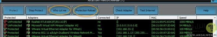 آموزش کار با Netcut Defender و جلوگیری از هک شدن و بیرون انداختن از شبکه اینترنت