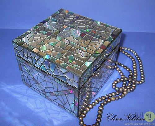 تزیین جعبه جواهرات