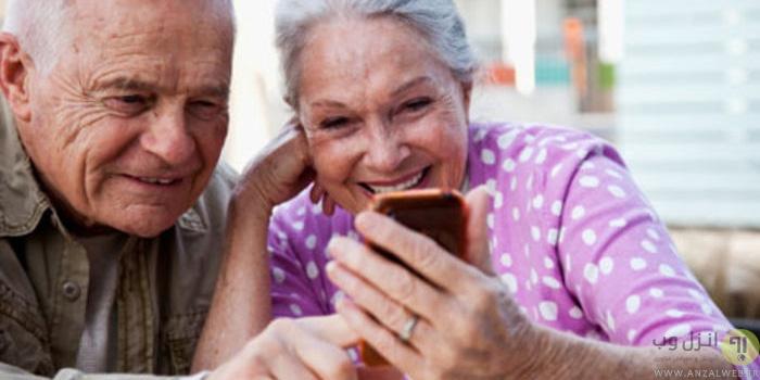 راه اندازی گوشی های هوشمند برای سالمندان