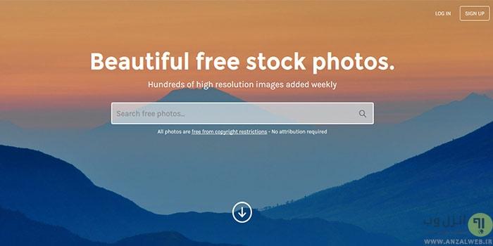 برترین وب سایت های دانلود تصاویر با کیفیت بالا