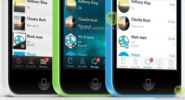 تماس صوتی و تصویری مجانی با برنامه چت HiApp