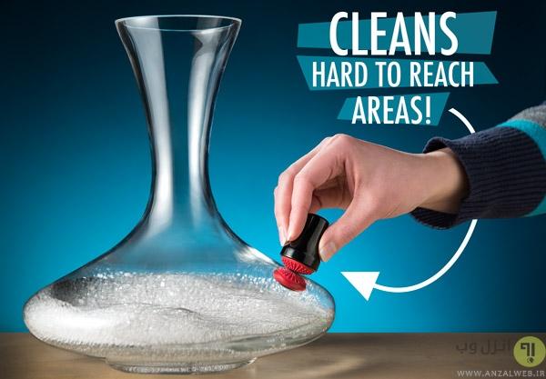 استفاده از آهنربا برای تمیز کردن سطوح دور از دسترس