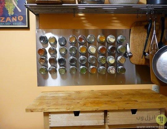 استفاده از آهنربا برای ساخت ظروف نگه داری ادویه جات