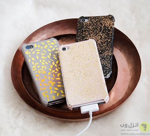 ایده هایی برای ساخت لوازم جانبی  موبایل در منزل