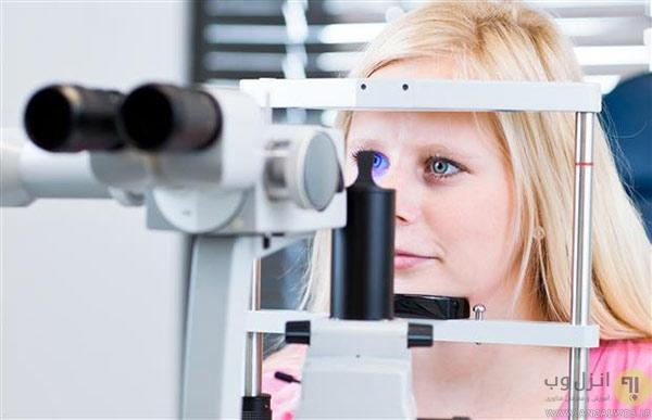جلوگیری و رفع خستگی چشم ها مقابل کامپیوتر