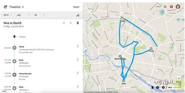 ردیابی گوشی دزدیده شده از طریق تاریخچه نقشه گوگل How to Track Lost Phone Location with Google Maps