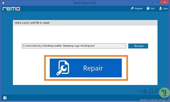 آموزش تعمیر و ریکاوری فایل خراب شده و آسیب دیده فتوشاپ   How To Recover Corrupted Photoshop PSD File