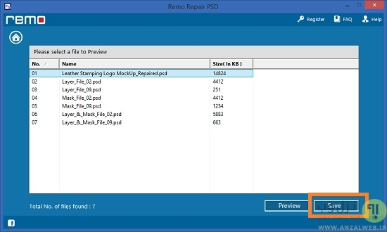 آموزش برنامه Remo Repair PSD برای ریکاوری فایل خراب شده فتوشاپ