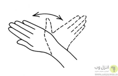 نرمش دست ها و انگشتان