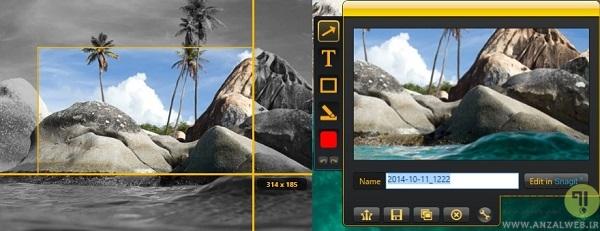 اسکرین شات در ویندوز