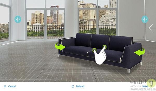طراحی دکوراسیون منزل و محیط کار