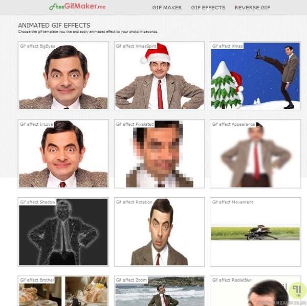ساخت حرفه ای تصاویر متحرک به صورت آنلاین با Freegifmaker