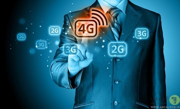دیتای شبکه 3g یا 4g سیستم عامل شما در اکثر مواقع فعال است