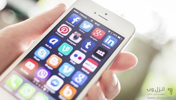 همگام سازی مداوم گوشی با اکانت های شبکه های اجتماعی ، ایمیل ها و..