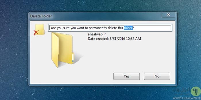 چگونه متن پیغام ، ارور و قسمت های مختلفت ویندوز را انتخاب و کپی کنیم ؟
