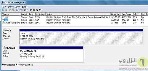 حل ارور You need to format the disk in drive before you can use it