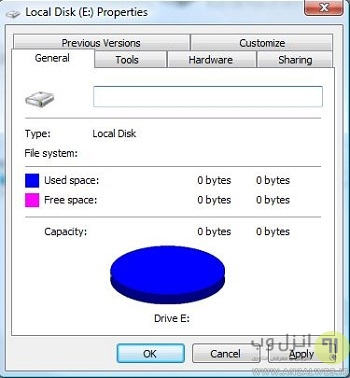حل ارور You need to format the disk in drive before you can use it فلش ، هارد اکسترنال