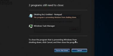چگونه پیغام تایید بستن برنامه ها هنگام خاموش و ریستارت شدن ویندوز را حذف کنیم How to shut down Windows without prompting Force Shutdown
