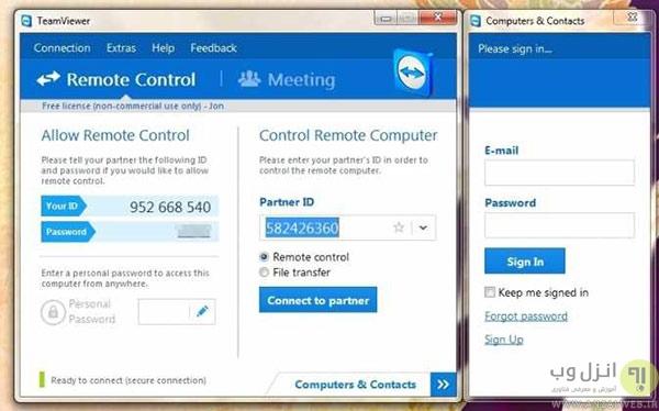 روش های کنترل از راه دور کامپیوترها