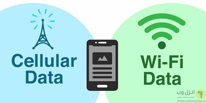 استفاده همزمان وای فای و اینترنت گوشی برای افزایش سرعت اینترنت اندروید