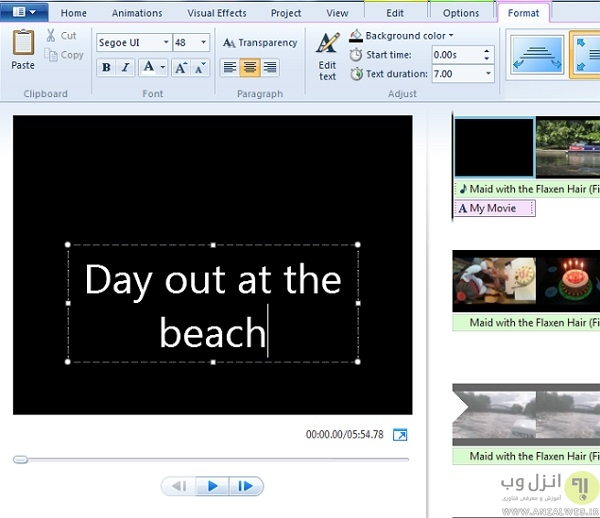Windows-Movie-Maker-Titles